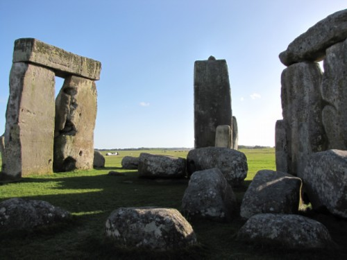 stonehenge fallen stones England Day 6 Part 2: Stonehenge Special Access Tour and Dinner at Da Vincis