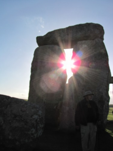 sunset at stonehenge England