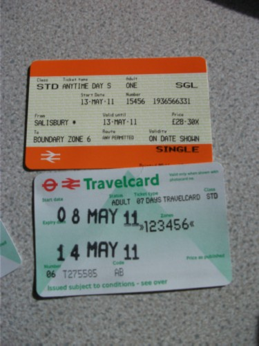 train tickets England Day 9: Wimbledon