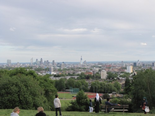 view from park England Day 4 Part 3: Hampstead