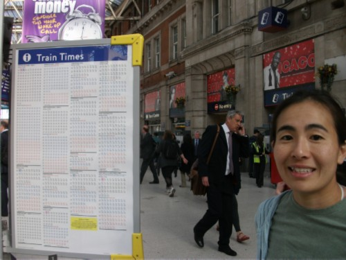 waterloo train times England Day 6 Part 1: First Day in Salisbury