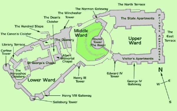 windsor castle map England Day 5 Part 1: Windsor Castle & a Fish & Chip Lunch