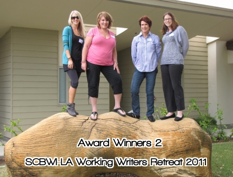 Award Winners 2 SCBWI LA Working Writers Retreat CLASS of 2011
