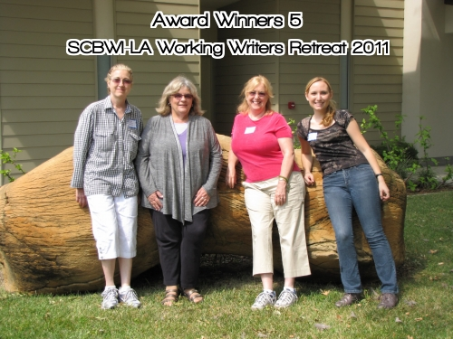 Award Winners 5 SCBWI LA Working Writers Retreat CLASS of 2011