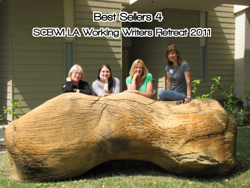 Best Sellers 4 SCBWI LA Working Writers Retreat CLASS of 2011
