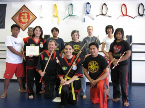 Doce Pares Torrance group I Advanced to Orange Belt Without The Orange Belt!