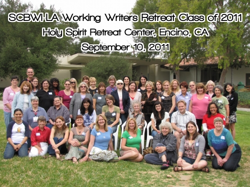 SCBWI LA WWR CLass 20111 SCBWI LA Working Writers Retreat CLASS of 2011
