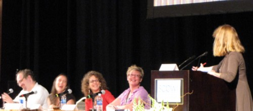 agents panel SCBWI Summer Conference Day 3