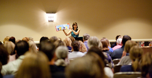 alessandra balzer SCBWI Summer Conference Day 2