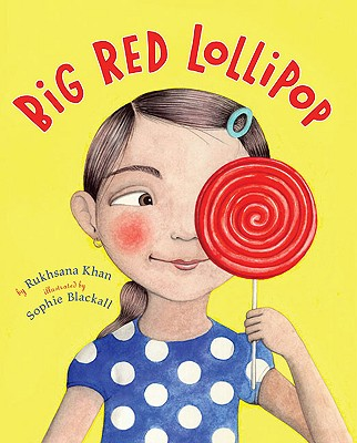 big red lollilop SCBWI Summer Conference Day 3