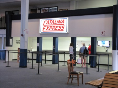 catalina express booth Celebrating a Birthday: Catalina Island with Friends