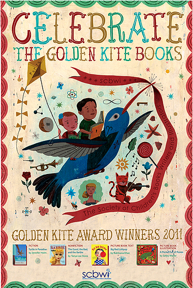 golden kite poster SCBWI Summer Conference Day 3