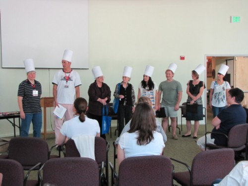 master chefs SCBWI LA Working Writer's Retreat 2011