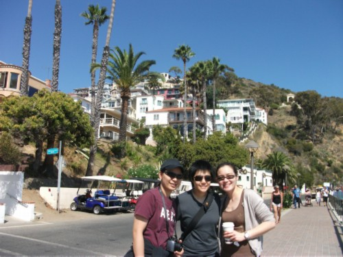 walking in avalon Celebrating a Birthday: Catalina Island with Friends