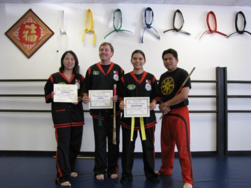 with master erwin I Advanced to Orange Belt Without The Orange Belt!
