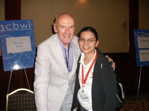 with richard peck SCBWI Summer Conference Day 3