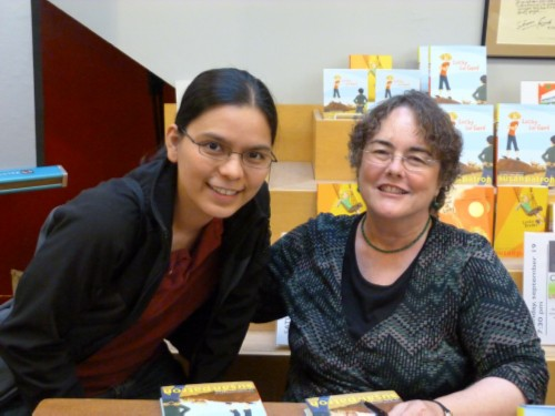 with susan patron Lucky for Good: Newbery Award Winner Susan Patron's Book Launch