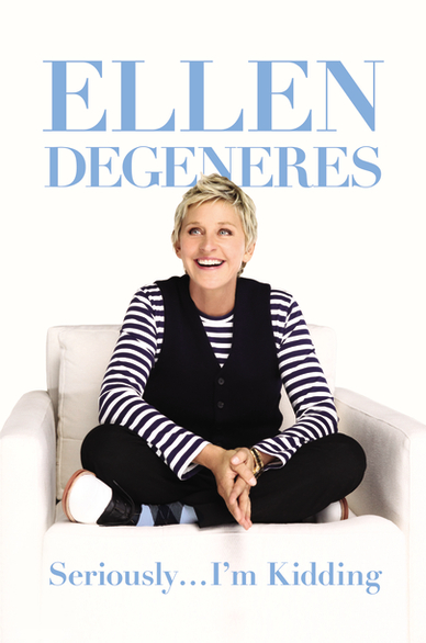 Seriously Im Kidding Book Cover Seriously... Im Kidding: Ellen Degeneres Book Signing at Barnes & Noble