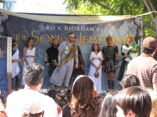 the gods October 2, 2011   Rick Riordans Book Signing at The Grove