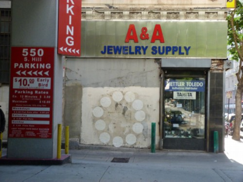 A A Jewelry Supply store Lena L.A. Tour Day 1: Flower Market, Jewelry District, Chinatown