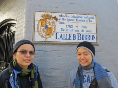 bourbon street New Orleans, Louisiana Part 1   French Quarter Adventures & 3 Beignets in One Day!