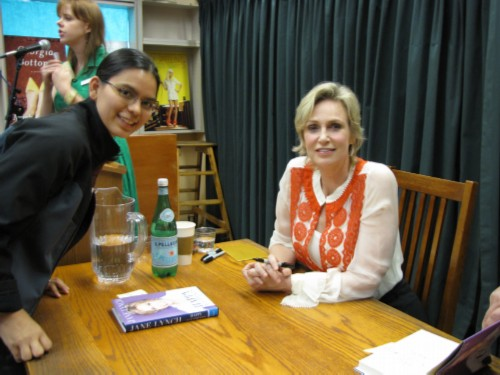jane lynch and myself Thank You, 2011