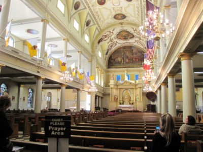 st louis cathedral New Orleans, Louisiana Part 1   French Quarter Adventures & 3 Beignets in One Day!