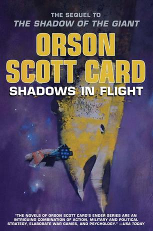 Orson Scott Cards newest book is Shadows in Orson Scott Card's Book Signing