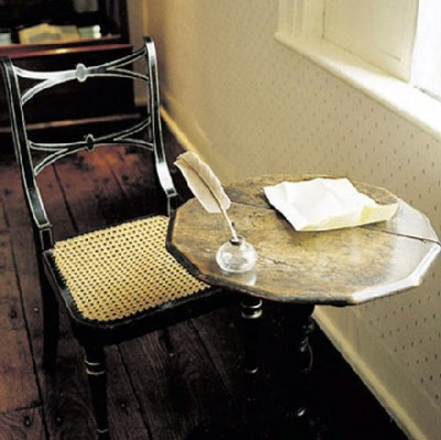 jane austen desk Famous Writers Desks  And What Does Your Desk Look Like?