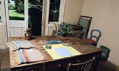 virginia woolf desk Famous Writers Desks  And What Does Your Desk Look Like?
