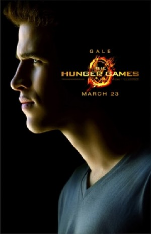 LiamHemsworthGaleOfficialCharacterPosterHungerGames Hunger Games Movie Fever