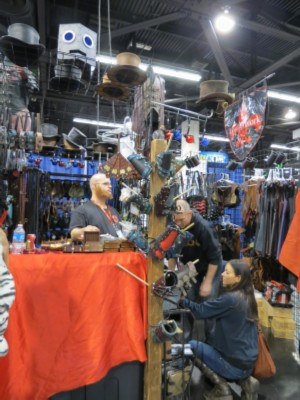 steampunk stall Wondercon