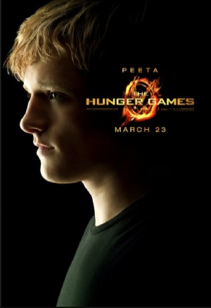 the hunger games character poster peeta modified Hunger Games Movie Fever