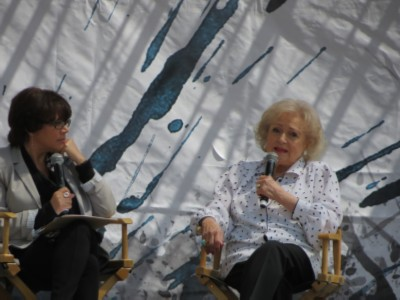 betty white interview L.A. Times Festival of Books in April
