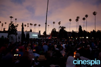 cinespia screening Movies at the—Cemetery?!