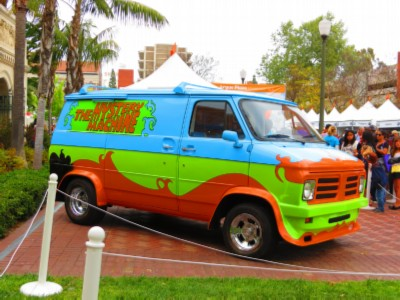 scooby doo L.A. Times Festival of Books in April