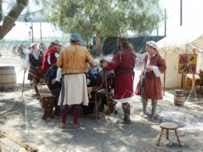 soldiers and peasants Renaissance Faire Routines and Rituals