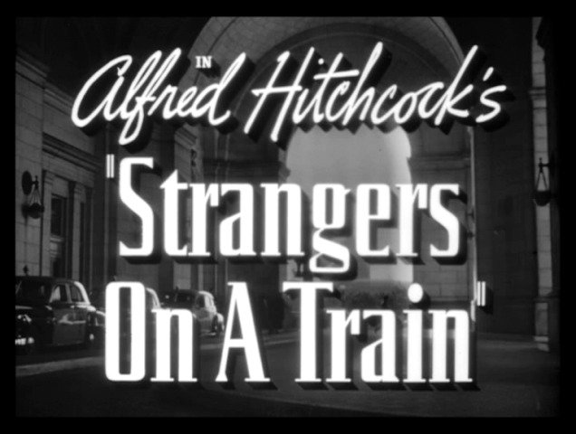 strangers on a train title Movies at the—Cemetery?!