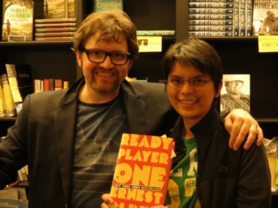 me with ernest cline Back to the Future with Author/Fanboy Ernest Cline