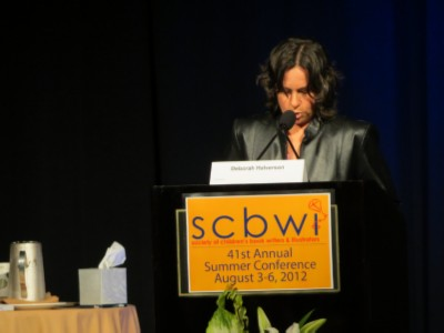 deborah halverson SCBWI Summer Conference Day 2 (August 4, 2012)
