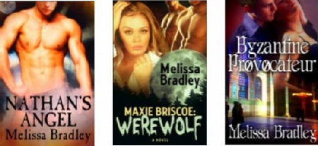 mel bradley book covers modified Wednesday Writer's Workspace Welcomes Melissa Bradley