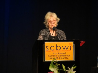 patricia maclachlan SCBWI Summer Conference Day 1 (August 3, 2012)