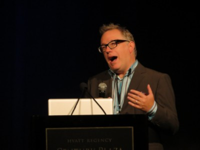 tony diterlizzi SCBWI Summer Conference Day 1 (August 3, 2012)
