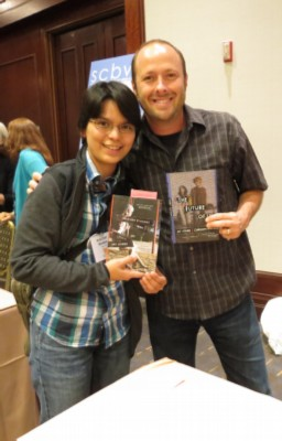 with jay asher SCBWI Summer Conference Day 3 (August 5, 2012)