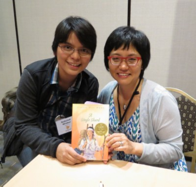 with linda sue park modified SCBWI Summer Conference Day 3 (August 5, 2012)