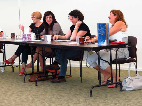 agents on panel SCBWI Working Writers Retreat Day 3