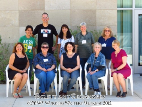 faculty and organizers modified SCBWI LA Working Writers' Retreat CLASS of 2012