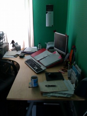My long lost desk modified Wednesday Writer's Workspace Welcomes Annalisa Crawford