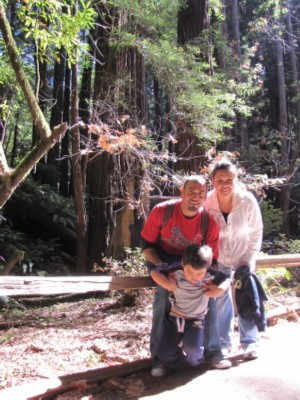 kay jorge ethan Muir Woods & San Francisco in a Day