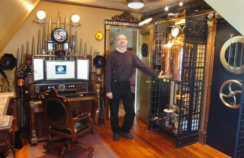 Bruce Rosenbaum ModVic steampunk designs Setting Up Shop Part 7: Desk Accessories & Office Decorations